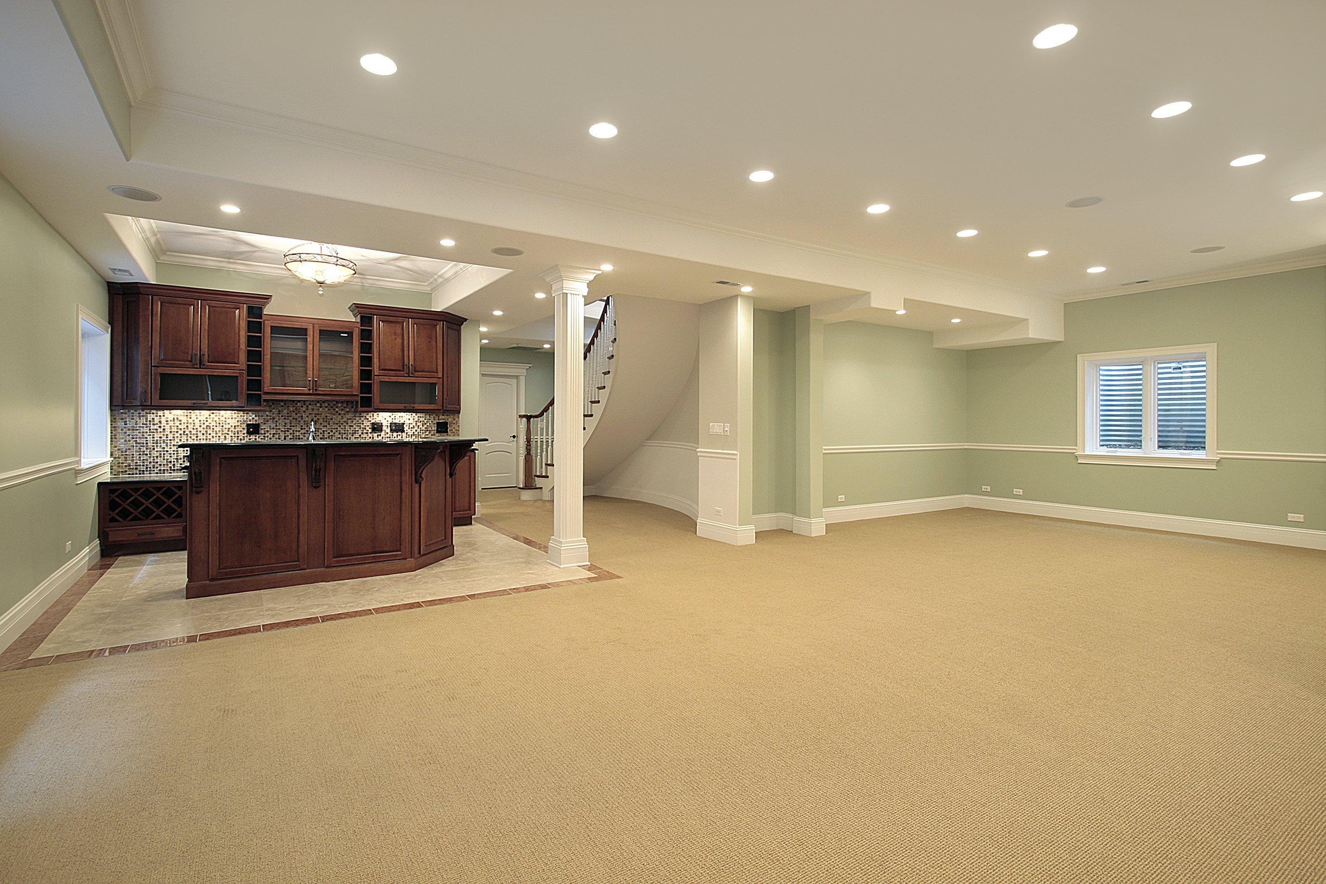 Full Basement Remodeling contractor Boston