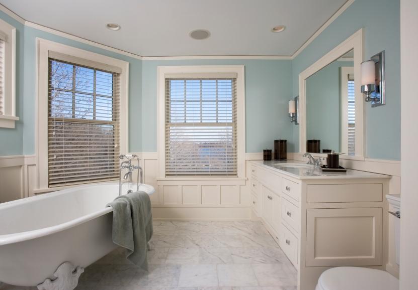 Spa Bathtub Bathroom Remodel