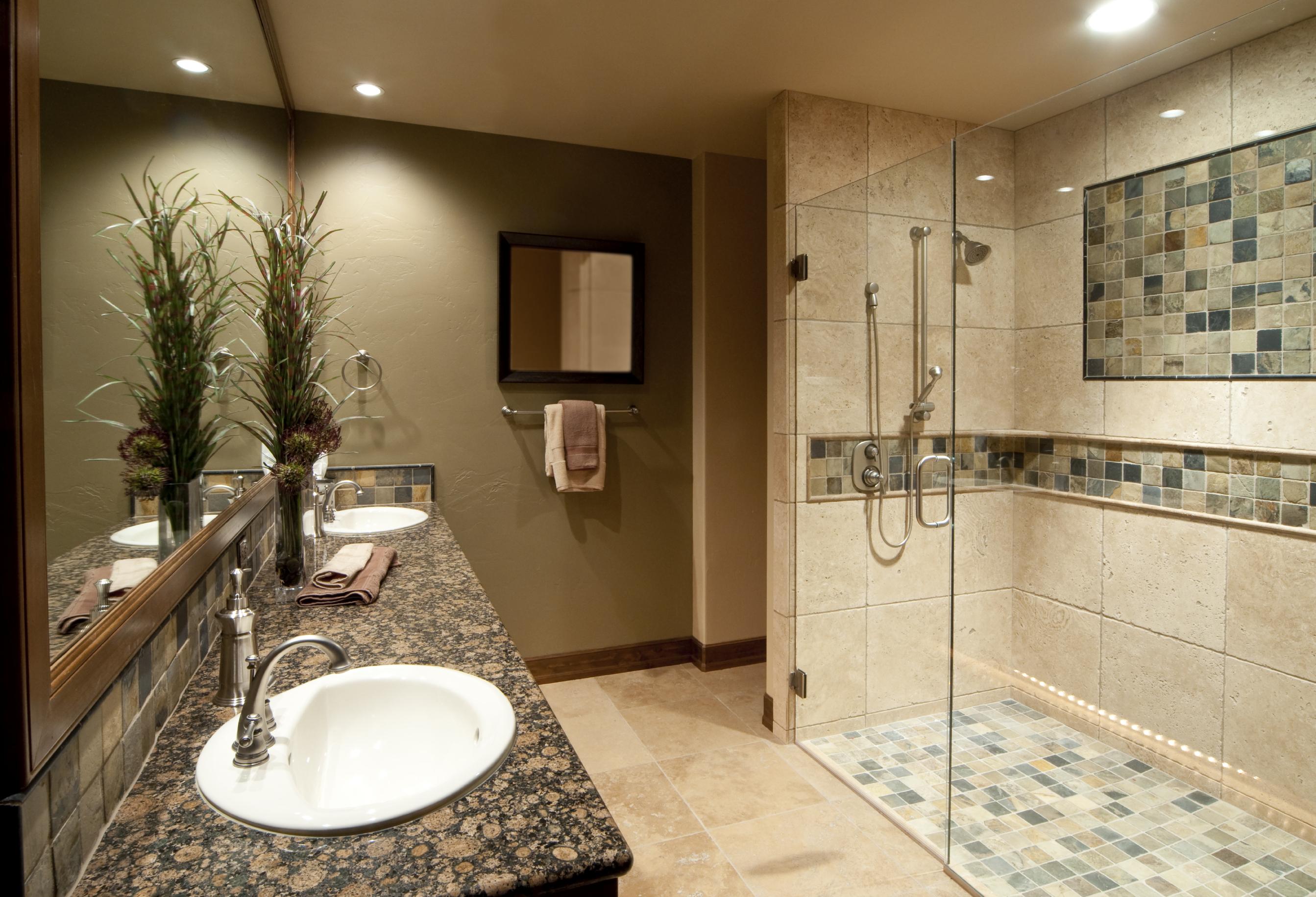 Glass Shower Bathroom Remodel