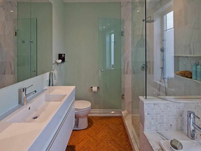 Narrow Bathroom Remodel