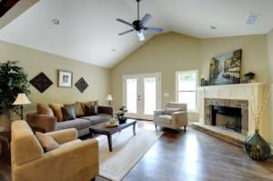 Living room addition contractor Boston